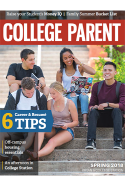 College Parent Magazine, Texas A&M edition